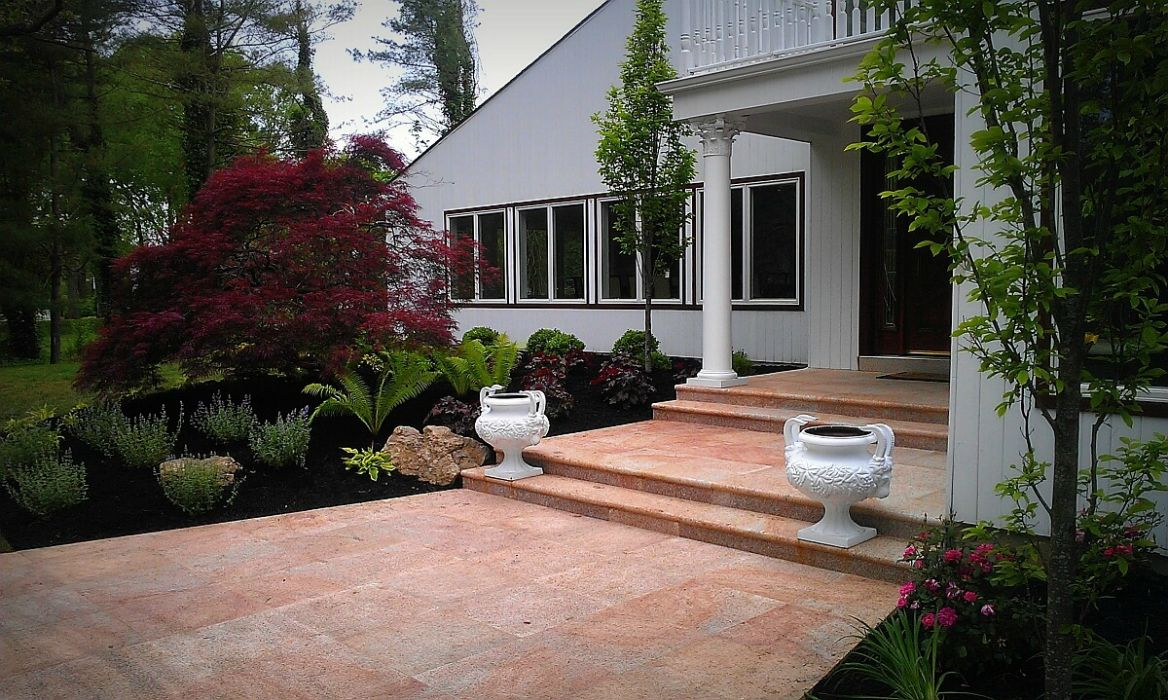 Long island landscape design design build landscape for House landscape design