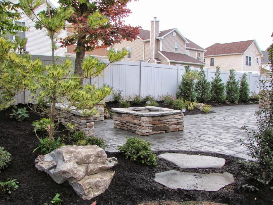 Long island patios contractors masonry designs driveways for Landscape design suffolk