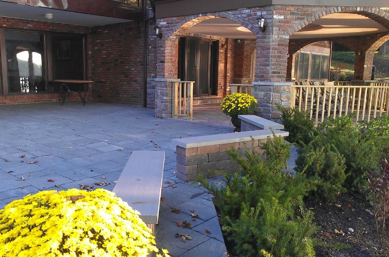Long Island Paver Patio