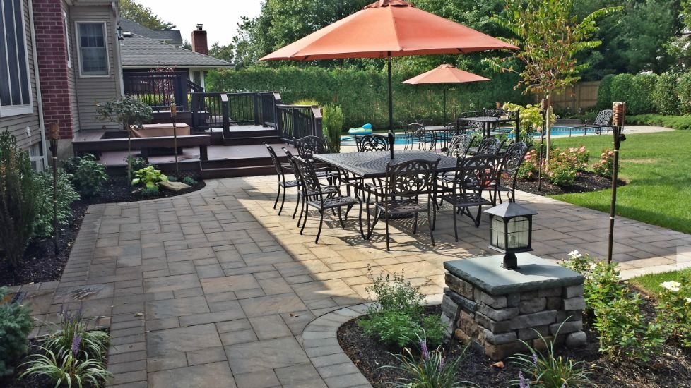 Landscaping Ideas Around Patio 20 Awesome Landscaping Ideas For Your  Backyard Garden Design With Long Island